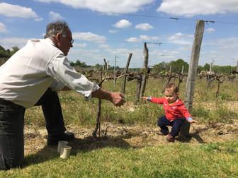 Bernard Coudert and his grandson Raphaë
