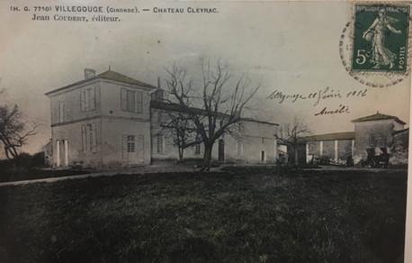 Chateau Cleyrac 1912