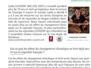 Les impacts du changement climatique sur le vignoble français