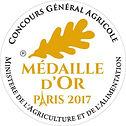 Medaille Or Paris