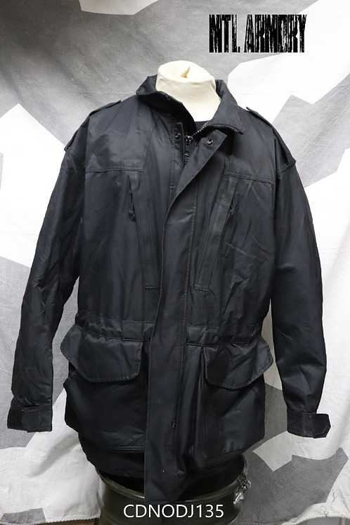 CANADIAN NAVY ISSUED BLACK GORE-TEX JACKET SIZE 7048