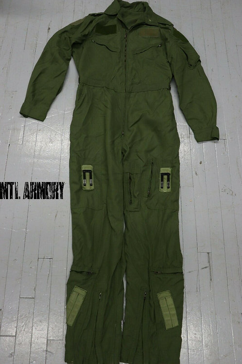 RCAF ISSUED OD FLYERS COVERALLS SIZE 7042