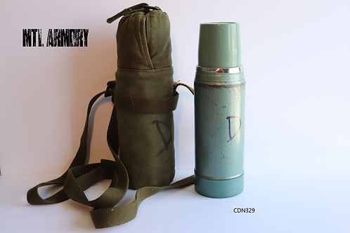 CANADIAN FORCES THERMOS WITH CARRIER