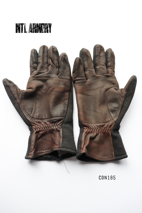 RCAF COLD WEATHER FLYER'S GLOVES SIZE LARGE