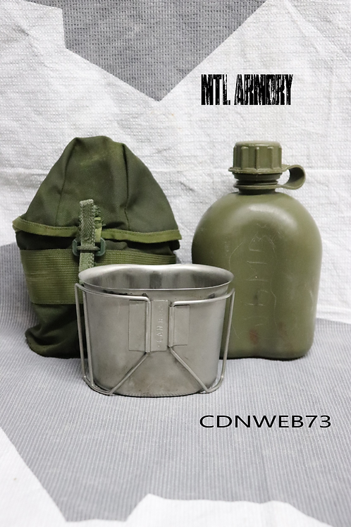 CANADIAN FORCES ISSUED CANTEEN SET