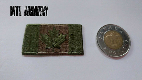 SMALL CANADIAN OD FLAG PATCH