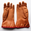 Thumbnail: CANADIAN FORCES ISSUED RUBBER INSULATED GLOVES SIZE MEDIUM