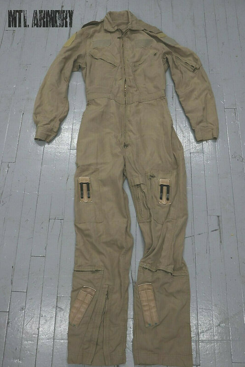 RCAF ISSUED TAN FLYERS COVERALLS SIZE 7638