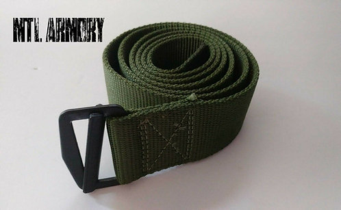 CANADIAN FORCES ISSUED OD NYLON BELT