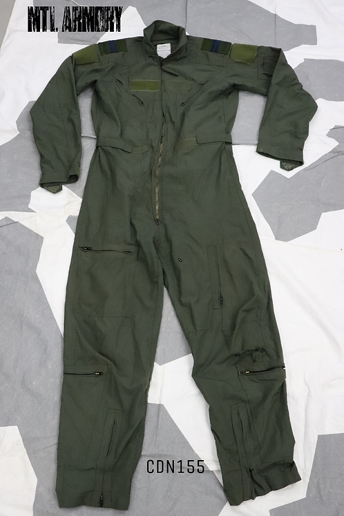 RCAF ISSUED PROPPER OD FLIGHT SUIT SIZE 42 LONG