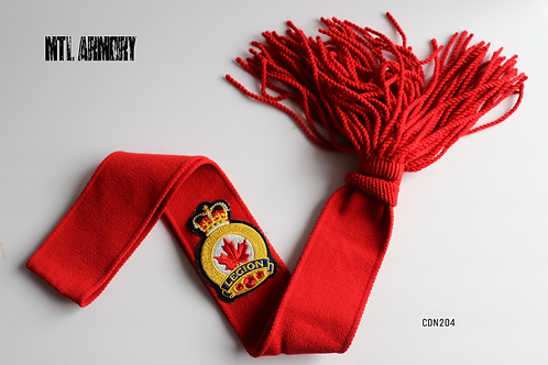 CANADIAN LEGION RED SASH