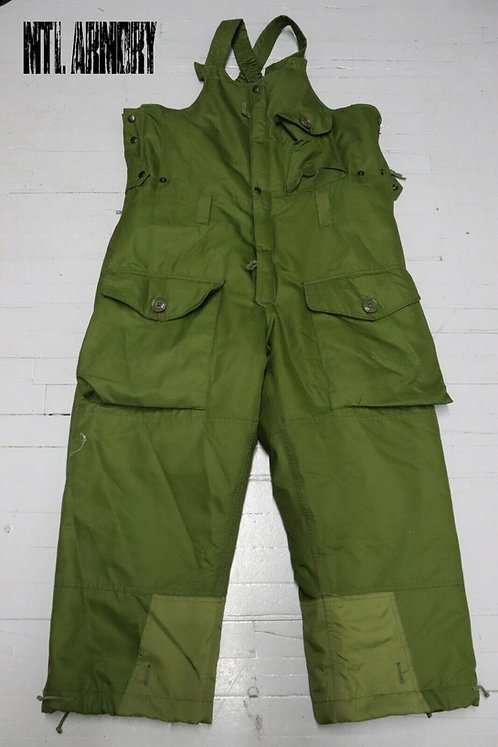 CANADIAN ISSUED GORE-TEX OD COLD WEATHER COVERALLS