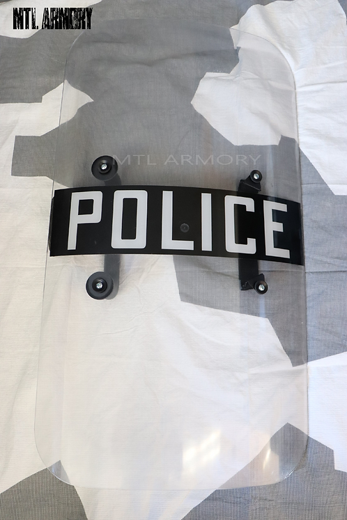 USA ISSUED RIOT POLICE SHIELD