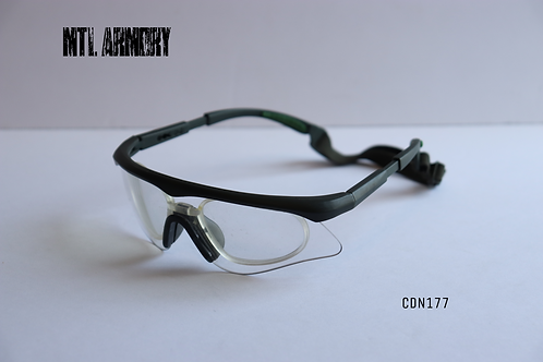CANADIAN ISSUED REVISION GLASSES WITH PRESCRIPTION GLASSES INSERT