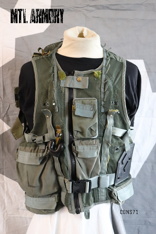 CANADIAN FORCES HELICOPTER SURVIVAL VEST SIZE LARGE