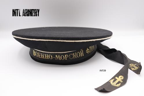 RUSSIAN NAVAL NAVY HAT