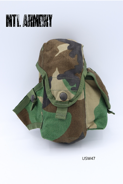 US ARMY WOODLAND MOLLE POUCH