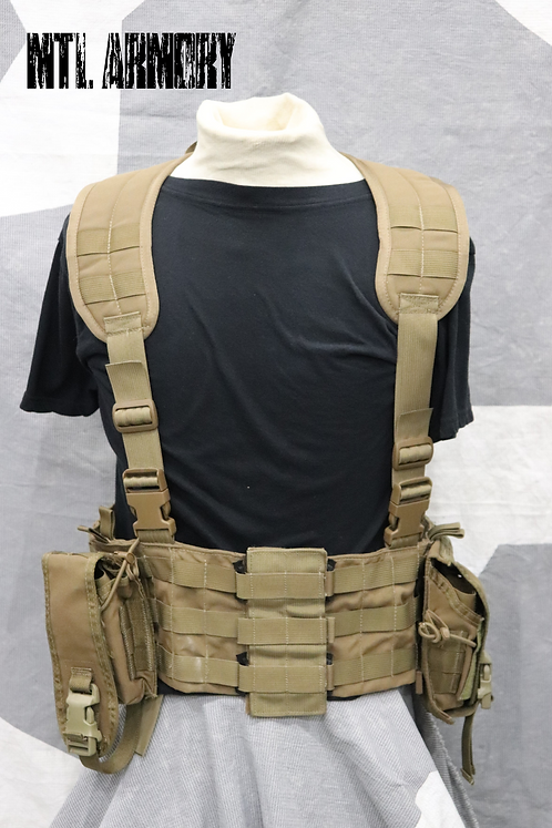 TACTICAL TAILOR TAN VEST WITH POUCHES