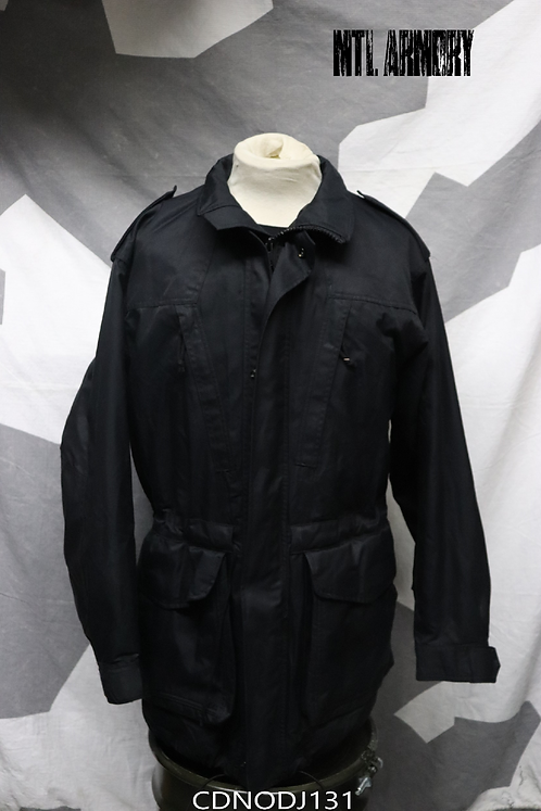 CANADIAN NAVY ISSUED BLACK GORE-TEX JACKET SIZE 7340