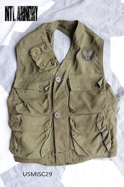 WW2 USA AIR FORCE SURVIVAL VEST