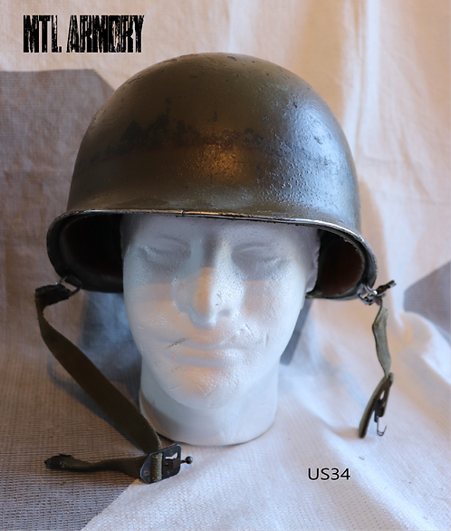 USA M1 HELMET FRONT SEAM SWIVEL BALE