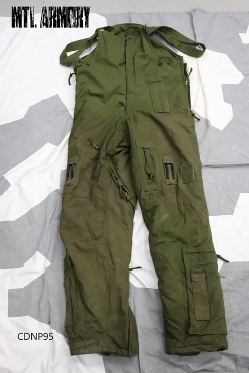 ROYAL CANADIAN AIR FORCE OD COLD WEATHER FLYER'S PANTS SIZE 7638