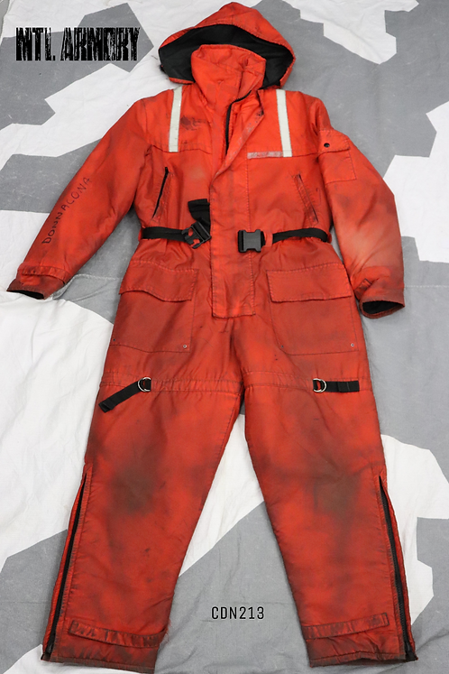 CANADIAN COAST GUARD MUSTANG SURVIVAL ANTI EXPOSURE SUIT SIZE MEDIUM