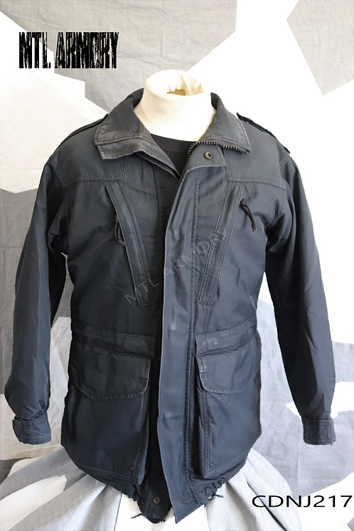 CANADIAN NAVY ISSUED BLACK GORE-TEX JACKET SIZE 6736