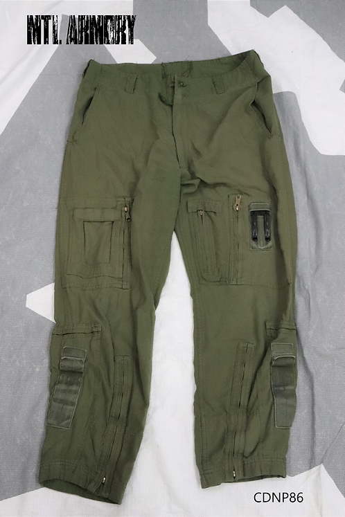 RCAF OD FLYERS HELICOPTER TACTICAL PANTS SIZE 7038