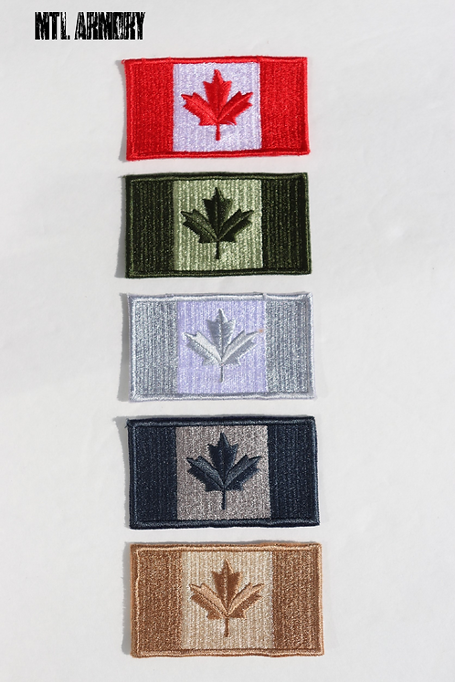 CANADA FLAG SEW ON PATCHES