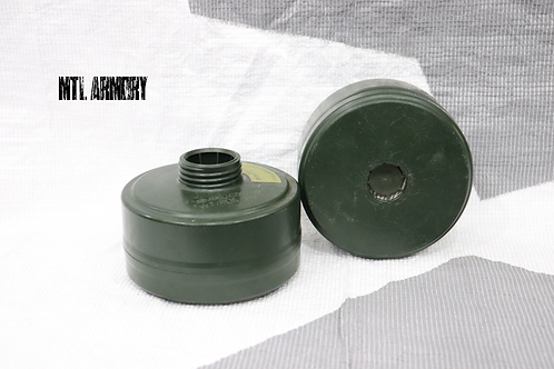 CANADIAN ISSUED C7 GAS MASK FILTER