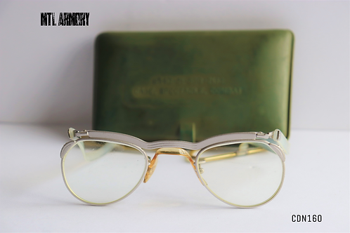 CANADIAN  ISSUED COMBAT GLASSES AND HARD CASE