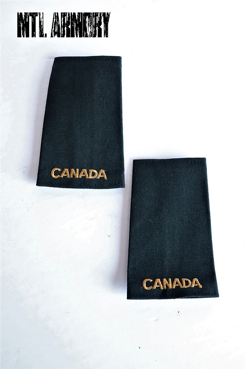 ROYAL CANADIAN NAVY EPAULETTES SLIP ONS