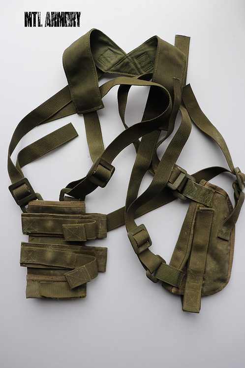 CANADIAN ISSUED 82 PATTERN SHOULDER HOLSTER AND MAG CARRIER