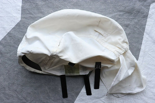 CANADIAN FORCES ISSUED WHITE ARTIC HELMET COVER