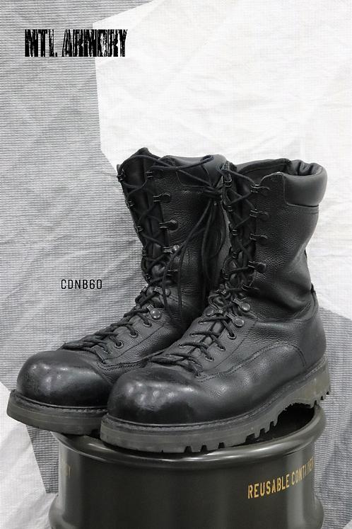 CANADIAN FORCES BLACK GORE-TEX COMBAT BOOTS SIZE ( 270 / 106 )
