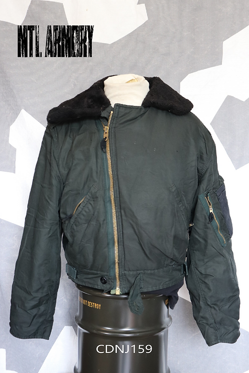RCAF ISSUED DARK GREEN FLYER'S JACKET SIZE 7040