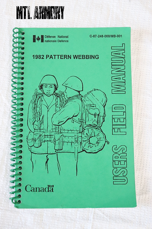 CANADIAN FORCES 82 PATTERN FIELD MANUAL