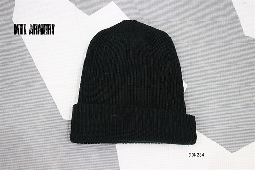CANADIAN FORCES DARK GREEN 100% WOOL TOQUE