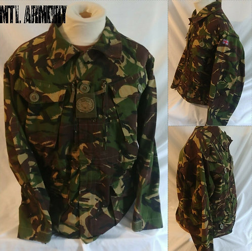 BRITISH ISSUED DPM JACKET SIZE 170/96