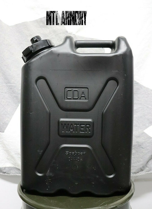BLACK ISSUED JERRY CAN