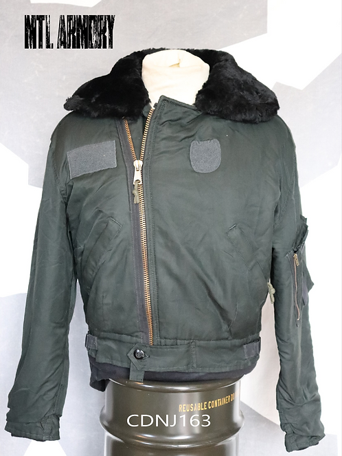 RCAF ISSUED DARK GREEN PILOTS JACKET SIZE 6639