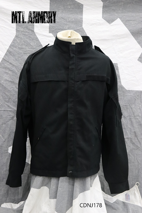 ROYAL CANADIAN NAVY BLACK NOMEX COMBAT JACKET SIZE 7048