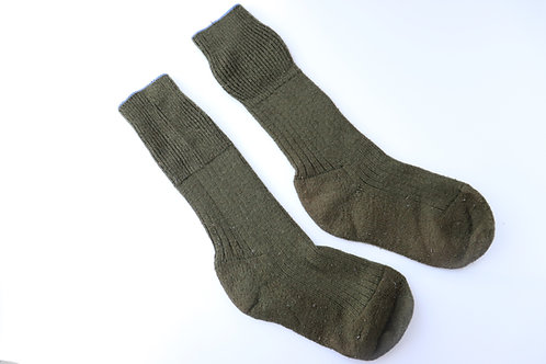 CANADIAN FORCES ISSUED WOOL OD SOCKS