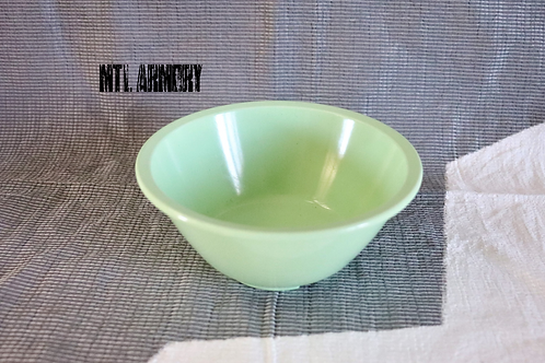 CANADIAN FORCES ISSUED LIGHT GREEN MELMAC BOWL