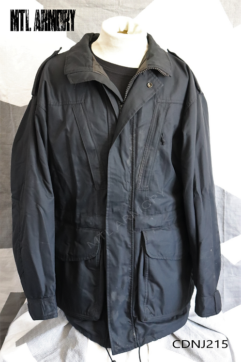 CANADIAN NAVY ISSUED BLACK GORE-TEX JACKET SIZE 7044