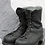 Thumbnail: CANADIAN FORCES BLACK STEEL TOE BOOTS SIZE ( 285 / 108  )