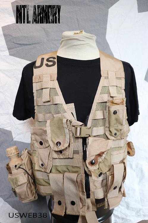 USA ARMY ISSUED FLC DESERT CAMO VEST