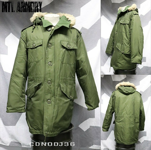 CANADIAN FORCES ISSUED OD PARKA SIZE 7444