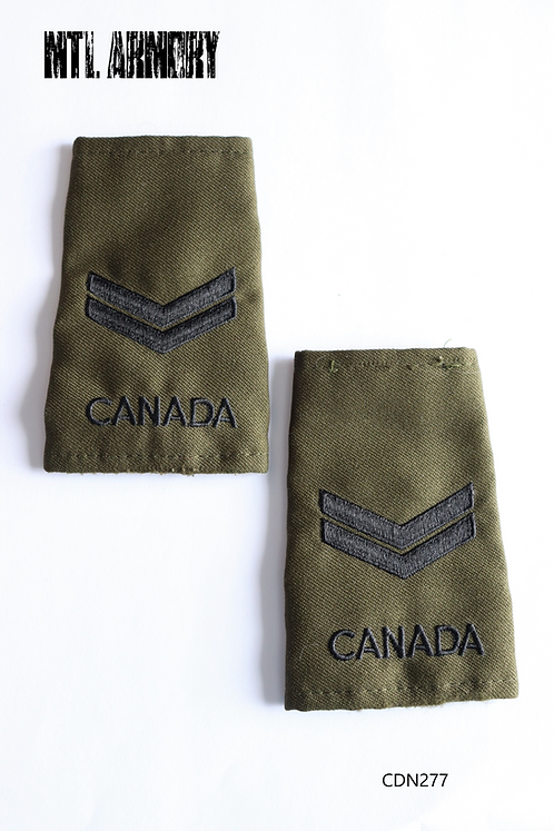 CANADIAN FORCES OD EPAULETTES